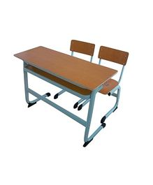 Playwell - Double Desk And Chair