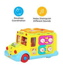 Mee Mee Intelligent School Bus Toy