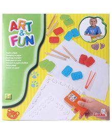 Simba Art And Fun Paper Emboss