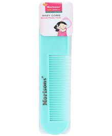 Morisons Baby Dreams - Baby Comb With Special Plastic Teeth Sea Green