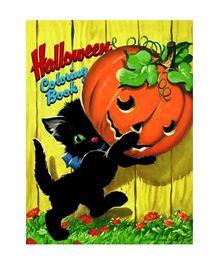 Halloween Coloring Book - English
