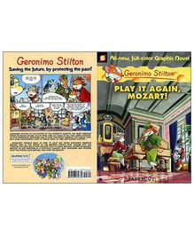 Papercutz - Geronimo Stilton Play It Again Mozart Story Book