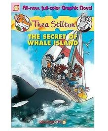 Papercutz - Thea Stilton Graphic The Secret Of Whale Island book