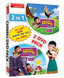 Infobells - 2 In 1 Chinnu Kannada Rhymes DVD Pack