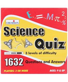 Creative - Science Quiz Card Game