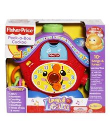 Fisher Price Laugh & Learn - Peek-a-Boo Cuckoo
