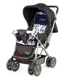 Luv Lap Sunshine Baby Stroller Cum Pram Navy Blue - 18108
