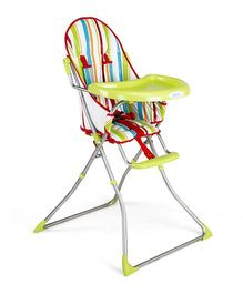 LuvLap Sunshine Baby Highchair With Transparent Tray - Green