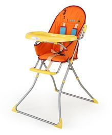 Luv Lap Baby High Chair Sunshine Orange - 18114