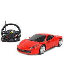 Rastar Ferrari 458 Italiya With Steering Wheel Controller