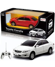 Rastar - Toyota Corolla Remote Controlled Car - White