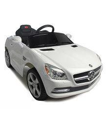 Rastar Battery Operated Ride On Car - White
