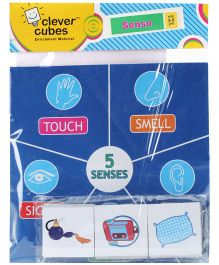 Clever Cubes Senso Puzzle Game (Color & Design May Vary)