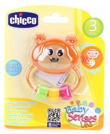 Chicco Easy Grasp Bear Rattle - 3 Months Plus