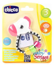 Chicco Easy Grasp Zebra Rattle - Multi Color