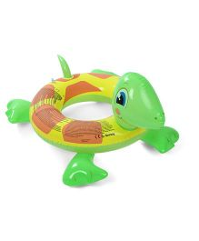 Bestway Turtle Swim Ring Green And Yellow