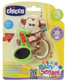 Chicco -  Musical Monkey Rattle