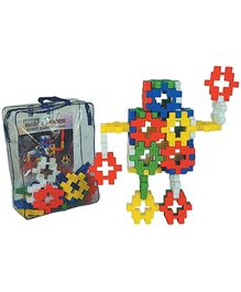 Girnar Kindergarten Blocks Robot - Multi Color