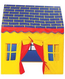 DealBindaas Doll House Tent - Yellow And Multi Colour