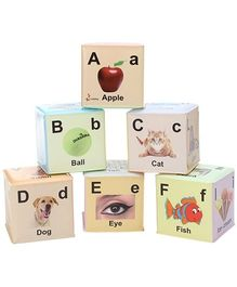 Ladybug Set Of 6 Soft Blocks - 8110 AZ