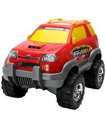 Luvely - Macs Fortune Suv 4X4 Car Red Toy
