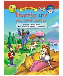 Jolly Kids Thumbelina And Other Stories Book - Volume 4