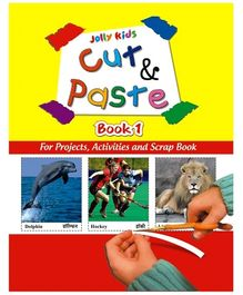 Jolly kids Cut and Paste Book 1