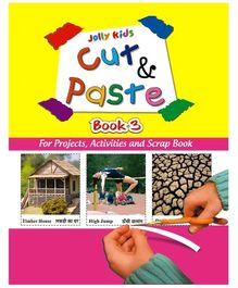 Jolly kids Cut and Paste Book 3
