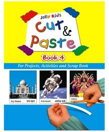 Jolly kids Cut and Paste Book 4