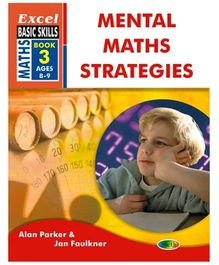 Jolly Kids Excel Basic Skills Mental Maths Strategies Book - 3