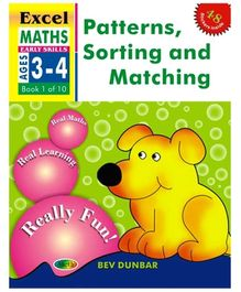 Jolly Kids Excel Maths Pattern Sorting Matching Book - 1 Of 10