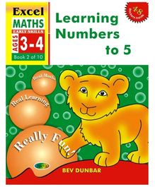 Jolly Kids Excel Maths Learning Numbers To 5 Book - 2 Of 10