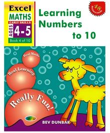 Jolly Kids Excel Maths Learning Numbers To 10 Book - 4 Of 10