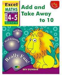 Jolly Kids Excel Maths Add And Take Away To 10 Book - 5 Of 10