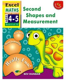 Jolly Kids Excel Maths Second Shapes And Measurement Book - 6 Of 10