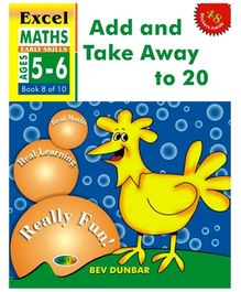 Jolly Kids Excel Maths Add And Take Away 1 To 20 Book - 8 Of 10