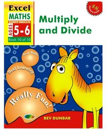 Jolly Kids Excel Maths Multiply And Divide Book - 10 Of 10