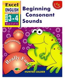 Jolly Kids Excel English Beginning Consonent Sounds Book - 3 Of 10