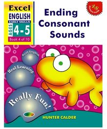 Jolly Kids Excel English Ending Consonent Sound Book - 4 Of 10