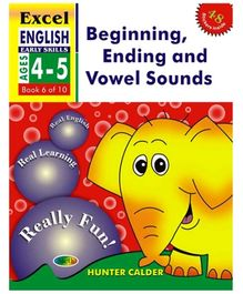 Jolly Kids Excel English Beginning Ending And Vowel Sounds Book - 6 Of 10