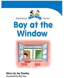 Jolly Kids Emotional Well Being Book - Boy At The Window
