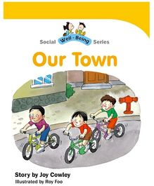 Jolly Kids Social Well Being Book - Our Town