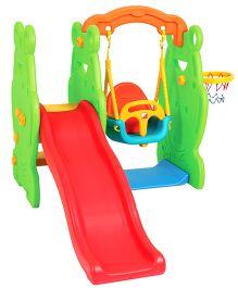 Eduplay Frog Slide And Swing Play Set
