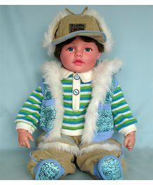 Baby Steps Jack N Jill Boy Doll - Olive
