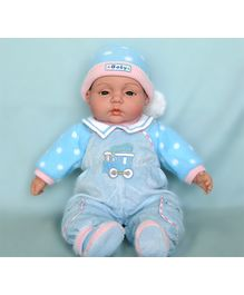 Baby Steps Jack N Jill Happy Baby Doll - Blue