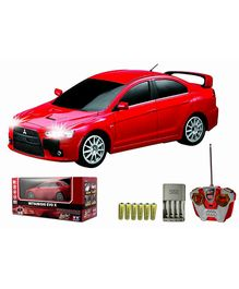 Auldey - Mitsubishi Evo X Red Toy Car