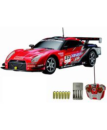 Auldey - Nissan GT R Red Toy Car