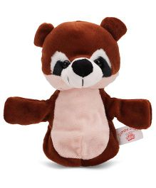 Dimpy Stuff Bear Hand Puppet Brown - 25 cm