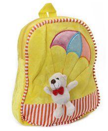 Dimpy Stuff Flying Teddy Shoulder Bag - Yellow