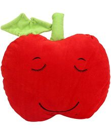 Dimpy Stuff Soft Apple Fruit Cushion - Red